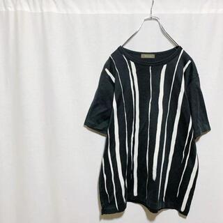 ヨウジヤマモト(Yohji Yamamoto)の【希少】Y's for men ワイズフォーメン ストライプ カットソー メンズ(Tシャツ/カットソー(半袖/袖なし))