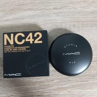 マック(MAC)のスタジオフィックス パウダー プラス ファンデーション NC42(ファンデーション)