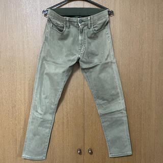 UNIQLO - ユニクロ ウルトラストレッチスキニージーンズ ※裾幅リメイク品