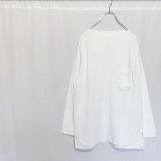 コモリ(COMOLI)のCOMOLI コモリ 17SS ボートネック 長袖シャツ メンズ 3(Tシャツ/カットソー(七分/長袖))