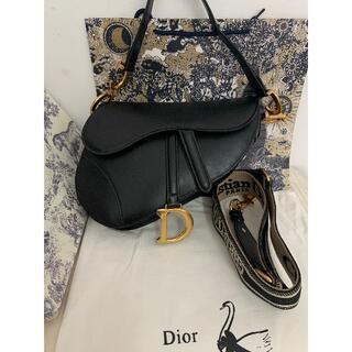 ギャランティー付 Dior ディオール SADDLE サドルバッグ