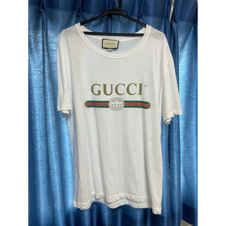 Gucci - GUCCI ヴィンテージ ロゴT