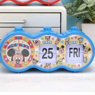 Disney - プレミアム アラーム付 パタパタカレンダー クロック ミッキー ディズニー 新品