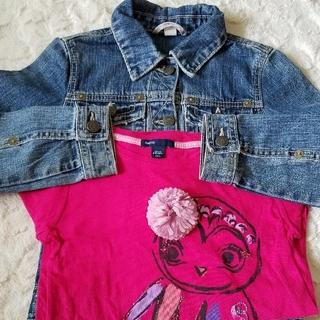 ギャップ(GAP)の130 2点セット ギャップ GAP 上着 Tシャツ(Tシャツ/カットソー)