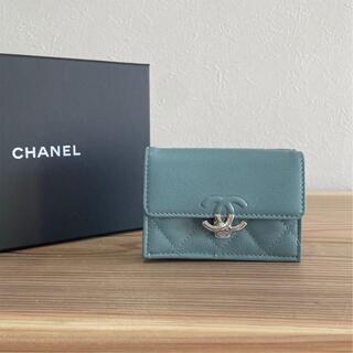 CHANEL - CHANEL シャネル 財布 CC BOX フラップウォレット
