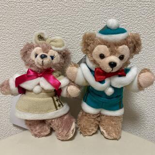 Disney - ◎未使用タグ付き◎ダッフィー シェリーメイ ぬいば クリスマス