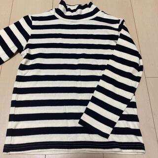 ムジルシリョウヒン(MUJI (無印良品))の無印良品 ハイネックTシャツ 130(Tシャツ/カットソー)