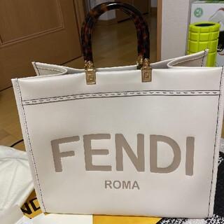 FENDI - FENDI CALFLEAT サンシャインラージトートバッグ 希少色