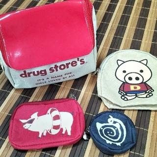 ドラッグストアーズ(drug store's)の新品未使用 ドラッグストアーズ ノベルティ4点ポーチセット(ポーチ)