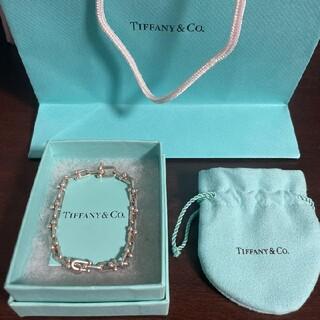 Tiffany & Co. - 《最終値下げ》今年夏購入Tiffany ハードウェア ブレスレット