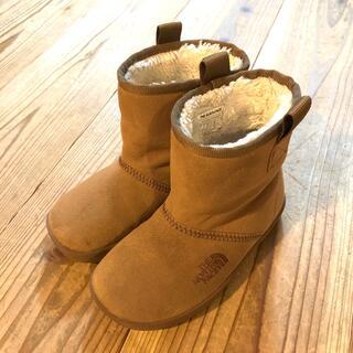 ザノースフェイス(THE NORTH FACE)のTHE NORTH FACE キッズ  ブーツ 17cm ウォータープルーフ(ブーツ)
