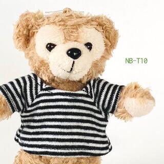 ダッフィー(ダッフィー)のダッフィー ぬいぐるみバッジ 服 コスチューム Tシャツ NB-T10(その他)