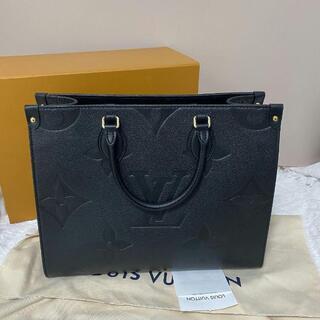 LOUIS VUITTON - Louis Vuitton【オンザゴー】MM トートバッグ 黒