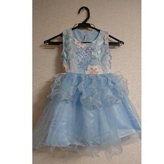 女の子♡刺繍シフォンチュールドレス(ドレス/フォーマル)
