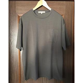 ユナイテッドアローズ(UNITED ARROWS)の【A DAY IN THE LIFE】ポケットTシャツ(カットソー)オリーブ色(Tシャツ/カットソー(半袖/袖なし))