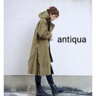 antiqua - アンティカ♪ ミリタリーコート