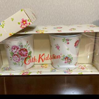 キャスキッドソン(Cath Kidston)の新品 Cath Kidston お花柄 マグカップ ペア フローラル(グラス/カップ)