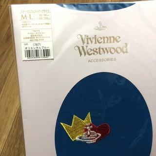 ヴィヴィアンウエストウッド(Vivienne Westwood)のヴィヴィアン オーブタイツ オリエンタルブルー(タイツ/ストッキング)