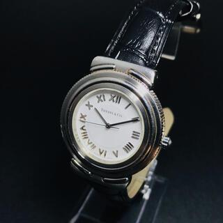 ティファニー(Tiffany & Co.)の【正規品】ティファニー 腕時計 インタリオ アトラス ホワイト メンズ(腕時計(アナログ))
