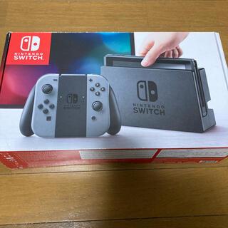 Nintendo Switch - 中古 Nintendo switch グレー
