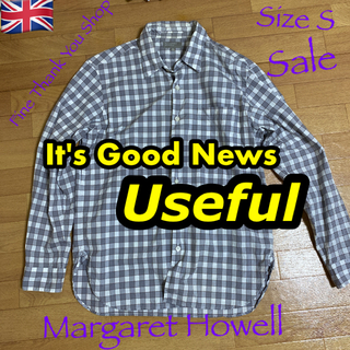 マーガレットハウエル(MARGARET HOWELL)の【秋の奉仕特価】 MARGARET HOWELL(マーガレットハウエル)シャツS(シャツ)