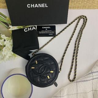 CHANEL - 美品 シャネル CHANEL ショルダーバッグ 丸型