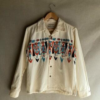 サンサーフ(Sun Surf)のSUNSURF プリントコーデュロイ オープンカラーシャツ Mサイズ(シャツ)