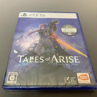 新品未開封 PS5 テイルズ オブ アライズ(家庭用ゲームソフト)