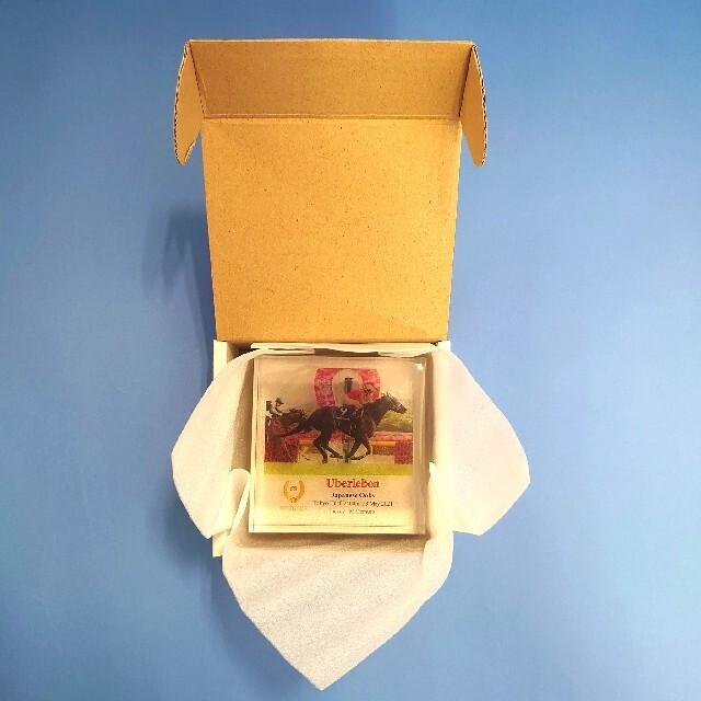 【新品】アクリルオブジェ ユーバーレーベン ウマ娘 競馬 ぬいぐるみ オークス エンタメ/ホビーのおもちゃ/ぬいぐるみ(ぬいぐるみ)の商品写真