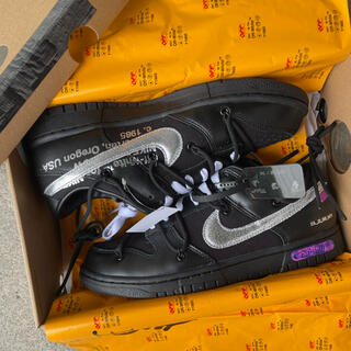 OFF-WHITE - Off-White  Nike Dunk Low The 50 【値下げ可】