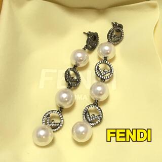 フェンディ(FENDI)のFENDI エフイズ フェンディ F IS ピアス(ピアス)
