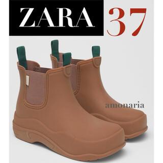 ザラ(ZARA)の【新品/未着用】ZARA レインブーツ LIMITED EDITION ブーツ (レインブーツ/長靴)
