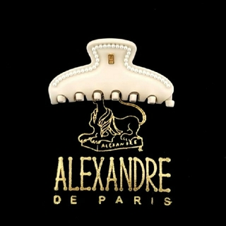 Alexandre de Paris - 新品☆アレクサンドル ドゥ パリ ヘアークリップ パール (S)
