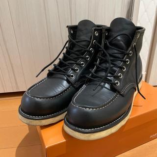 REDWING - レッドウィング アイリッシュセッター モック トゥ レザー 黒 メンズ ブーツ