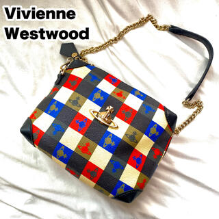 Vivienne Westwood - ヴィヴィアン ウエストウッド ショルダーバッグ オーブ 総柄 PVC レザー