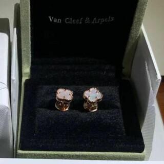 Van Cleef & Arpels - 【値下げ】ヴァンクリーフ&アーペル スウィートアルハンブラ ピアス