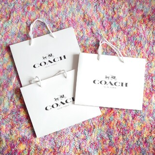 コーチ(COACH)の【未使用】コーチ 紙袋 ショッパー 3枚セット(ショップ袋)