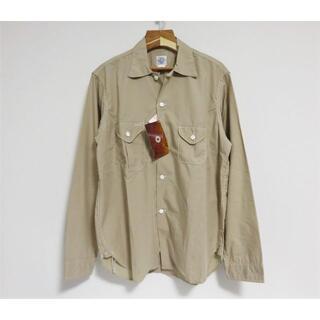 ポストオーバーオールズ(POST OVERALLS)の定価3万 新品 POST O'ALLS E-Z cruz Shirt M(シャツ)