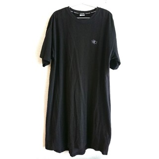 CONVERSE - CONVERSE コンバース 梨地チュニックTシャツ