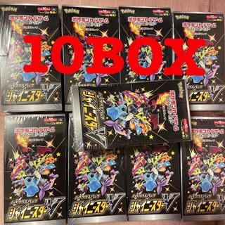 ポケモン(ポケモン)のシャイニースターv 10BOX シュリンク付き 新品未開封(Box/デッキ/パック)