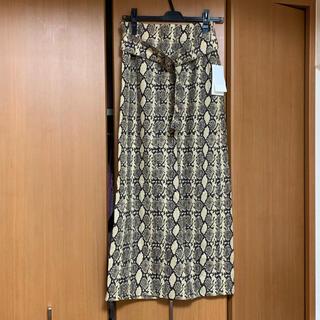 ミラオーウェン(Mila Owen)の新品未使用 Mila Owen タイトスカート(ロングスカート)