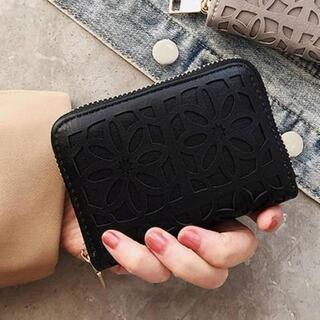 花柄◆オシャレカードケース★大容量じゃばら☆マルチ財布コインケース☆新品激安