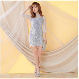 dazzy store - dazzy store 袖付きレースドレス