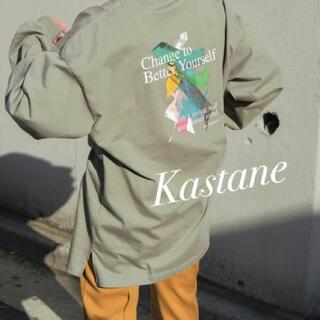 Kastane - カスタネ Sixsence Graffiti Art ロンT