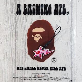 アベイシングエイプ(A BATHING APE)のA BATHING APE モバイルクリーナー ②(キーホルダー)