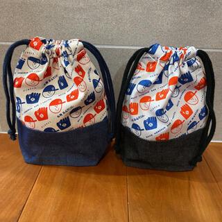 ホームランバー巾着袋(外出用品)