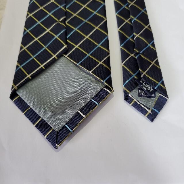 【美品】REGATTA CLUB ネクタイ スーツ メンズ 日本製 ファッション メンズのファッション小物(ネクタイ)の商品写真