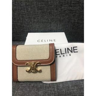celine - CELINE セリーヌ トリオンフ スモールウォレット 財布