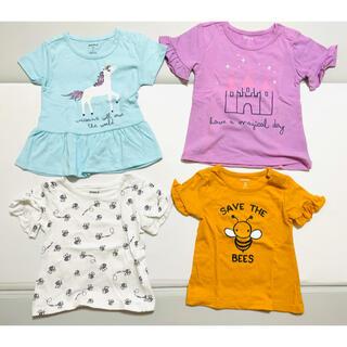 コストコ(コストコ)の【新品未使用】女の子Tシャツ4枚セット(18M)(Tシャツ)