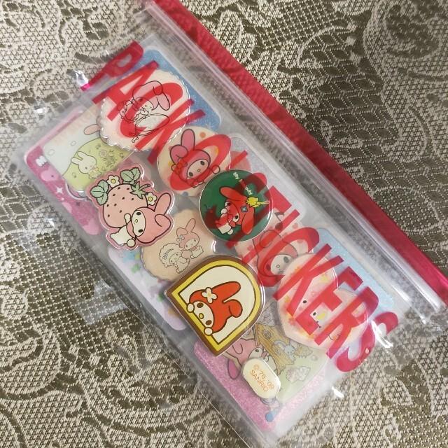 マイメロディ(マイメロディ)の♡マイメロディ♡  ステッカー  14枚  セット エンタメ/ホビーのおもちゃ/ぬいぐるみ(キャラクターグッズ)の商品写真